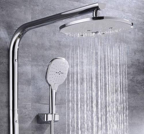 顶喷沐浴器龙头怎么安装