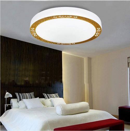 圆形吸顶灯灯罩怎么安装与拆卸