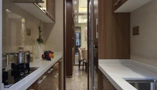 开放式厨房隐形门要怎么安装