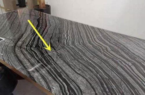 大理石桌面有裂缝怎么修补 看看老师傅的做法【图】