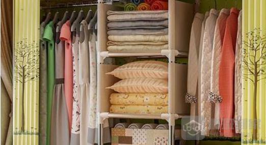 钢管衣柜怎么安装?