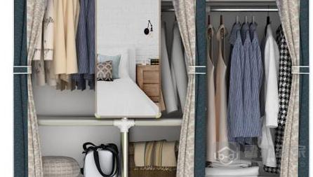 钢管衣柜和实木衣柜那个好