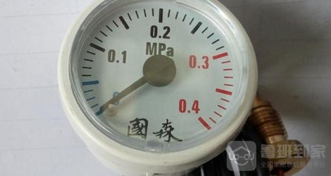 壁挂炉压力表