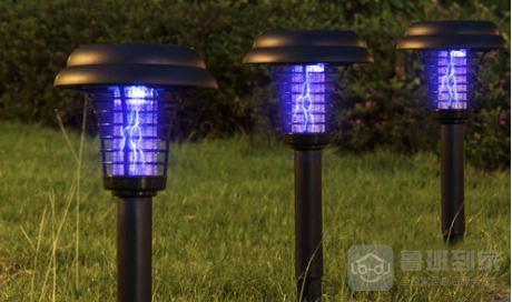 草坪灭蚊灯