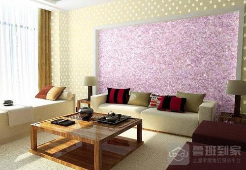 壁纸知识:什么是墙艺漆液体壁纸